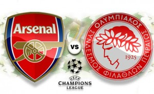 Arsenal vs Olympiacos Piraeus