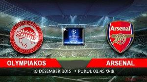 Olympiakos vs Arsenal